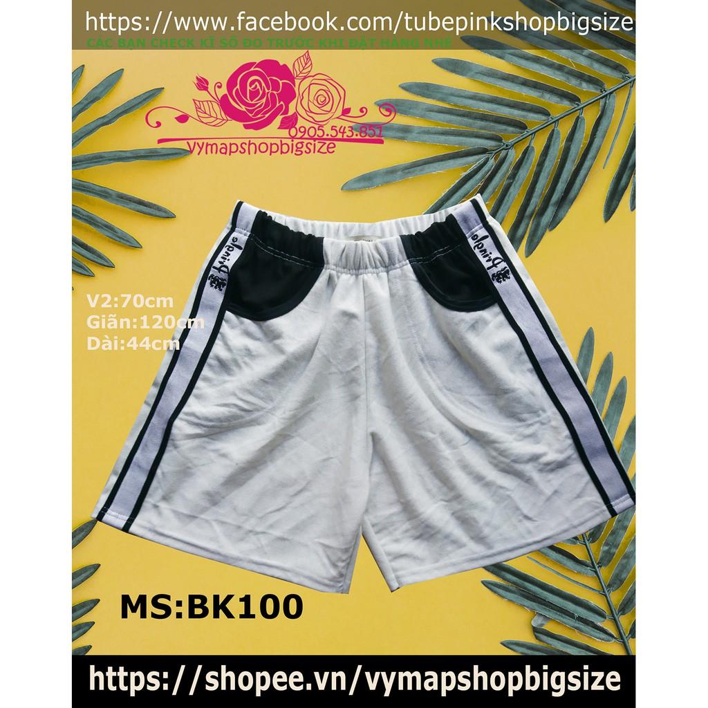 quần big size nam nữ 60-95kg