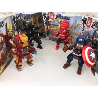 Đồ chơi lắp ráp Lego Super Heroes Marvel Sembo Block SY1312