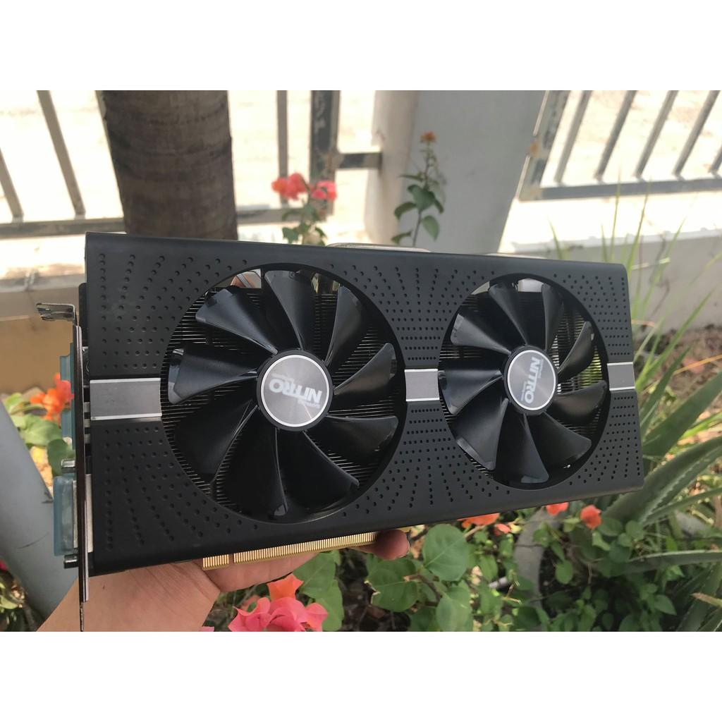 [Nhập ELCLMAY hoàn 30K xu đơn từ 200K]VGA SAPPHIRE RX 580 4GB Giá chỉ 1.300.000₫