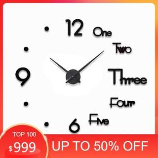 (Free ship) Đồng hồ dán tường cỡ nhỏ - đồng hồ treo tường DH76