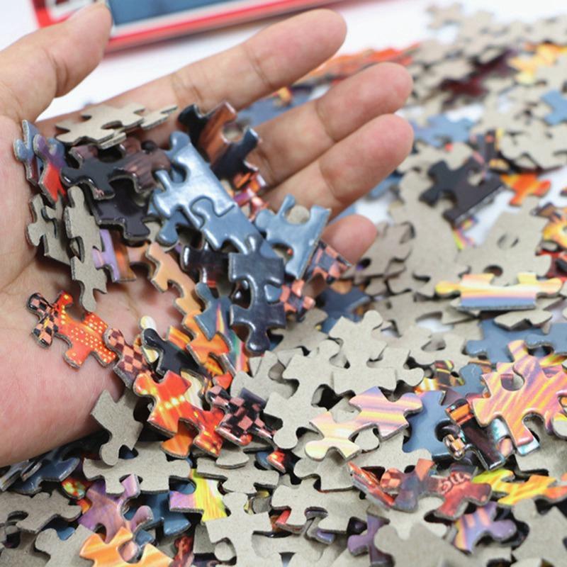 Bộ Tranh Ghép 500 Mảnh Ghép Hình Phong Cảnh Động Vật