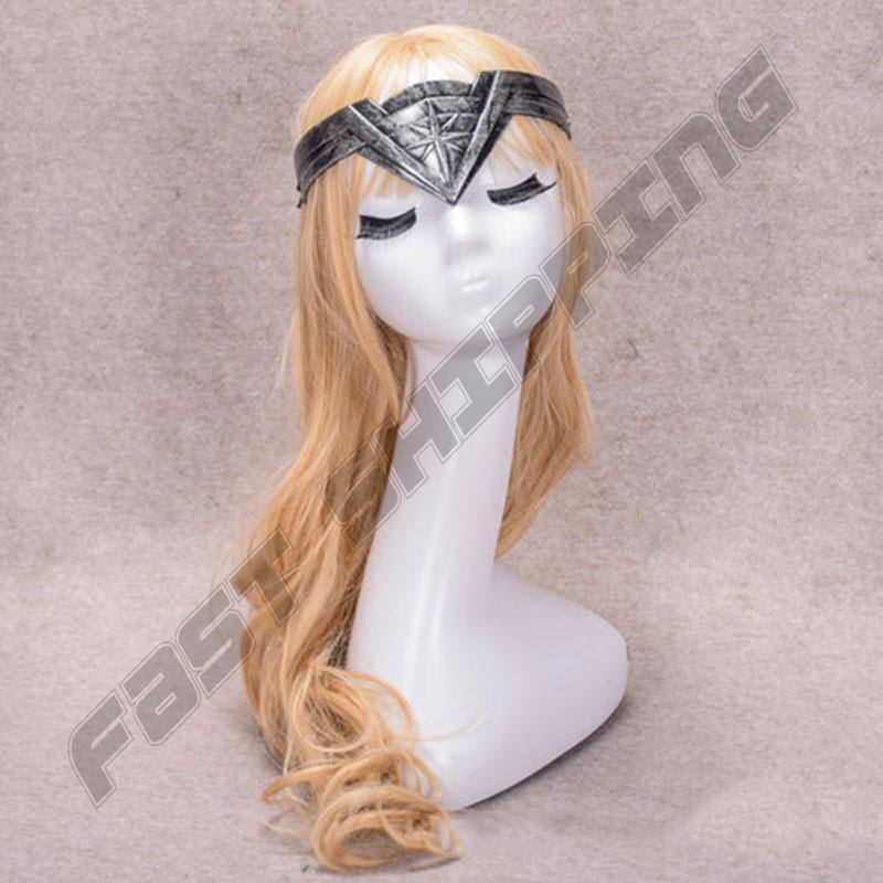 Cosplay Prop Superhero Headband Headwear Halloween Performing Tool Plastic