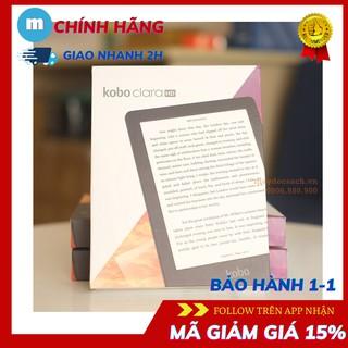 Máy đọc sách Kobo Clara HD – hỗ trợ công nghệ ComfortLight PRO ánh sáng dịu – maydocsach.vn