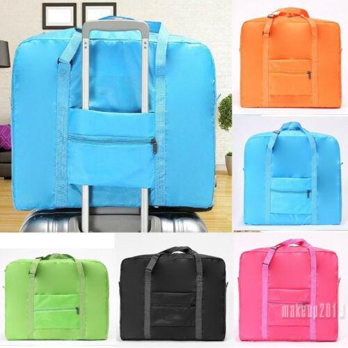 Mu♫-Travel Foldable Fashionable Waterproof Clothes Sundries Organizer Pouch Large Capacity Storage Suitcase Luggage Bag