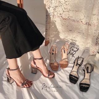 FREE SHIP Giày cao gót / sandal cao gót nữ gót lỗ siêu hot