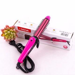 Máy là tóc, dập xù, lược điện Nova 3 trong 1 model 8890 - 3251243 , 1105025441 , 322_1105025441 , 64000 , May-la-toc-dap-xu-luoc-dien-Nova-3-trong-1-model-8890-322_1105025441 , shopee.vn , Máy là tóc, dập xù, lược điện Nova 3 trong 1 model 8890