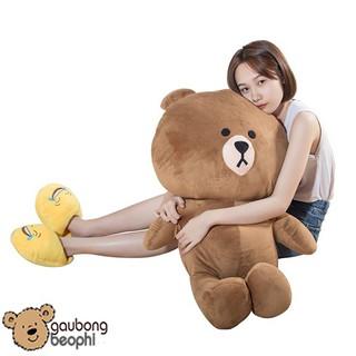 [HOT]Gấu brown màu nâu nhạt- GBBP