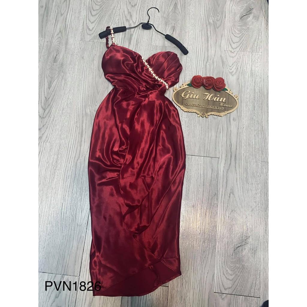 Đầm bên cúp bên nhọn
