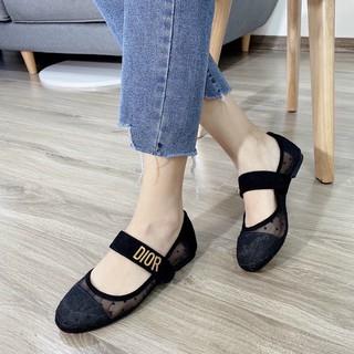 Giày búp bê - Bệt chếm bi 𝔻𝕚𝕠𝕣