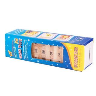 Bộ đồ chơi bằng gỗ hình tháp rút gỗ cho bé giải trí tập trí thông minh Dụng cụ cho bé Trẻ sơ sinh
