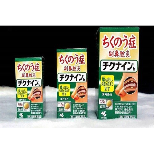 Viên uống xoang Nhật bản Kobayashi Chikunain