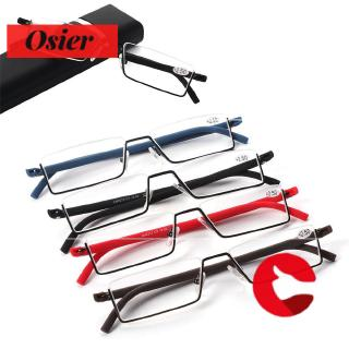 👒OSIER🍂 with Case Vision Care Portable TR90 Ultralight Reading Glasses
