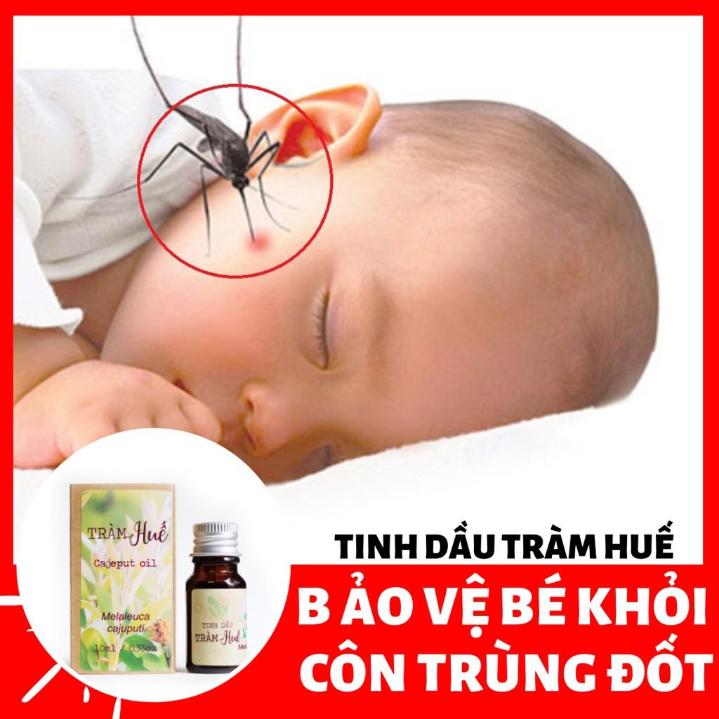 [Bảo vệ trẻ khỏi muỗi, côn trùng đốt] Tinh dầu Tràm 10ml - Liên Minh Xanh - Làng Hạ