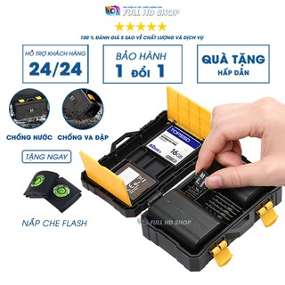 Hộp đựng thẻ nhớ – Chống nước , chống va đập – Bảo vệ thẻ nhớ và pin máy ảnh tuyệt đối – Full HD Shop