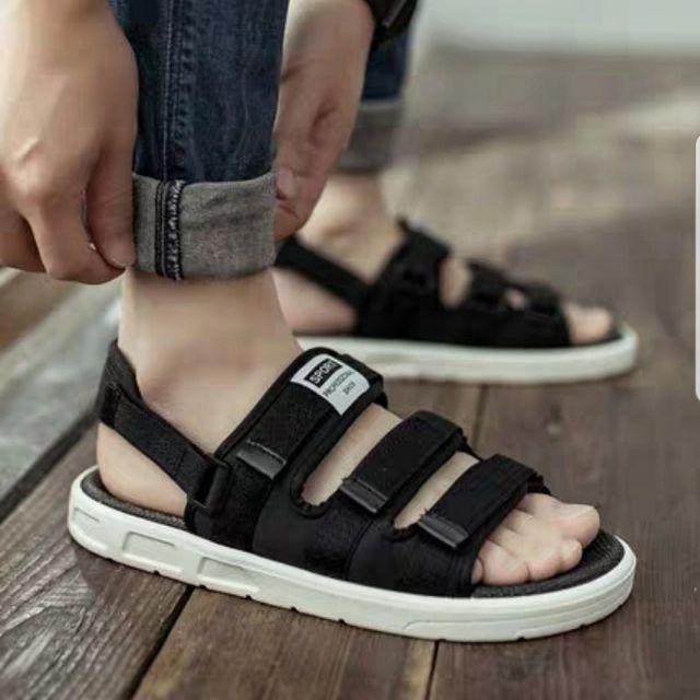 Sandal nam nữ quai sau tháo rời - nhiều màu - cực bền