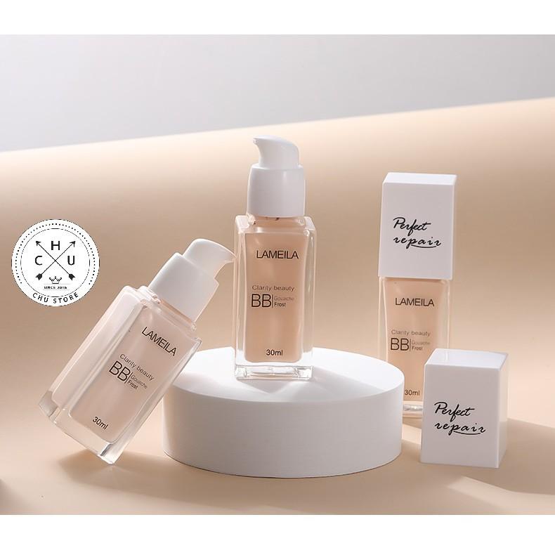 (Bán Buôn – Sỉ) Kem Nền Trang Điểm Che Khuyết Điểm BB Cream Lameila Perfect Repair Light Concealer Foundation K15