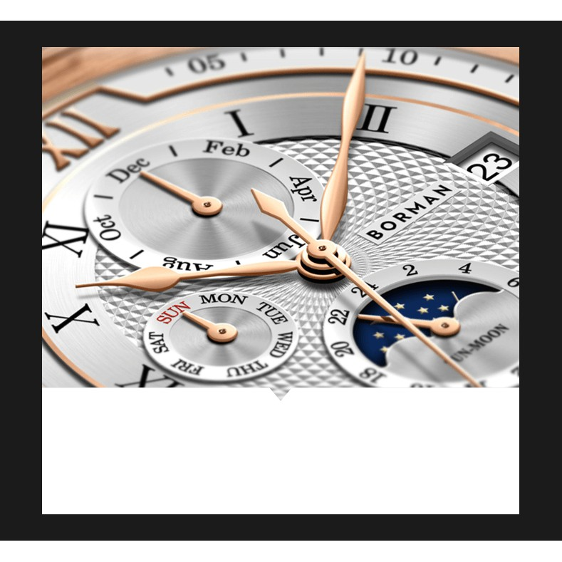 Đồng hồ nam chính hãng Borman BM3868-5