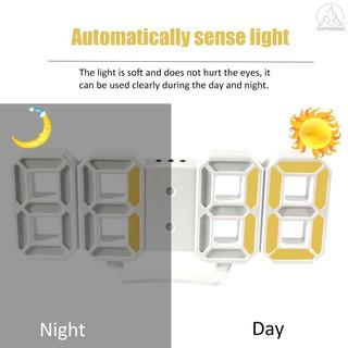 Đồng hồ LED để bàn/treo tường kỹ thuật số có chế độ ban đêm