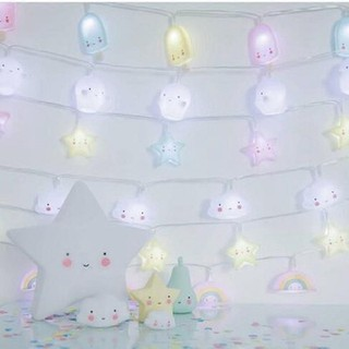 INS cloud lamp small lamp string tent decoration star lamp string children's roo