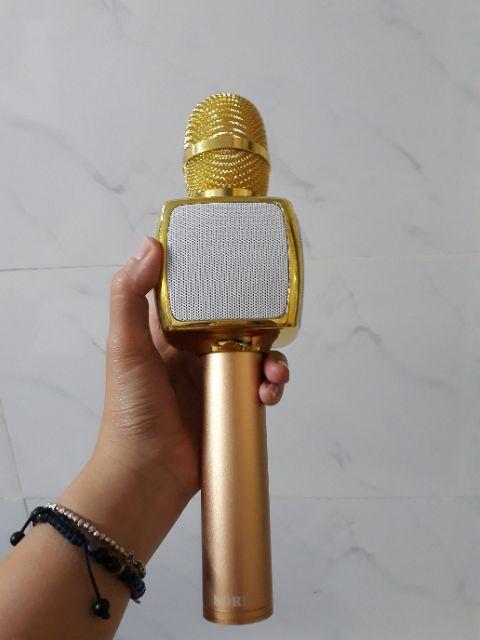 [Mã 267ELSALE hoàn 7% đơn 300K] Micro karaoke bluetooth SDRD SD16 chính hãng âm cực to rõ