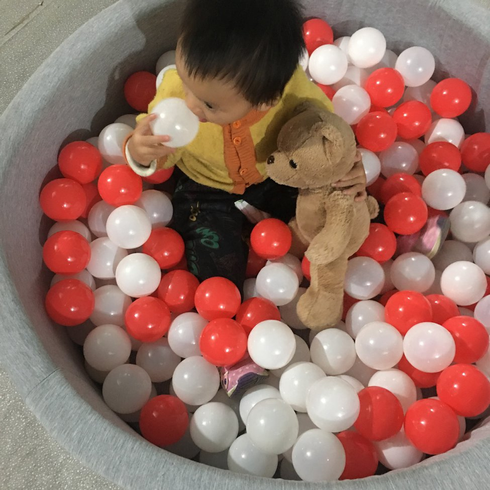 50Pcs Colorful Ocean Balls Baby Swimming Toy Children Gift Ocean Wave Ball