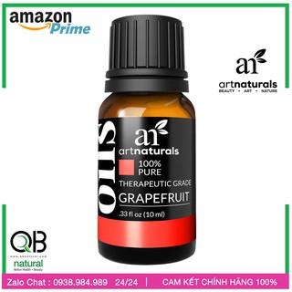 [Tinh dầu Bưởi artnaturals ] Tinh dầu Grapefruit Essential oil, Set 10ml, made in USA thumbnail