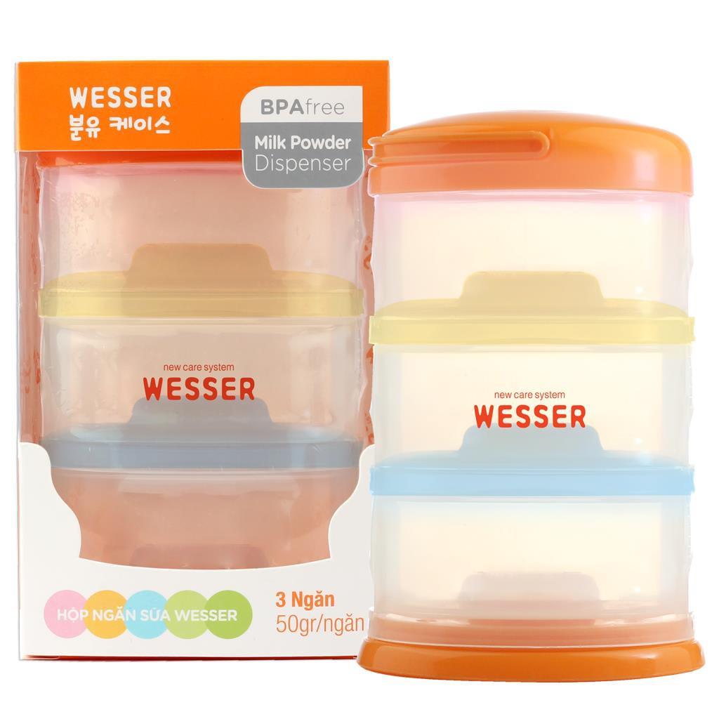 Hộp ngăn sữa bột thông minh Wesser - 3126397 , 1339263204 , 322_1339263204 , 69000 , Hop-ngan-sua-bot-thong-minh-Wesser-322_1339263204 , shopee.vn , Hộp ngăn sữa bột thông minh Wesser