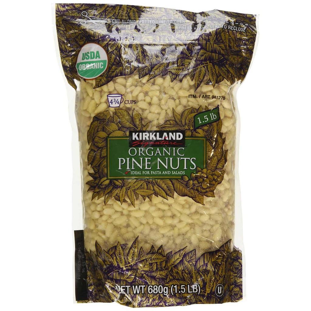Hạt Thông Organic Pine Nuts Kirkland 680g - Mỹ