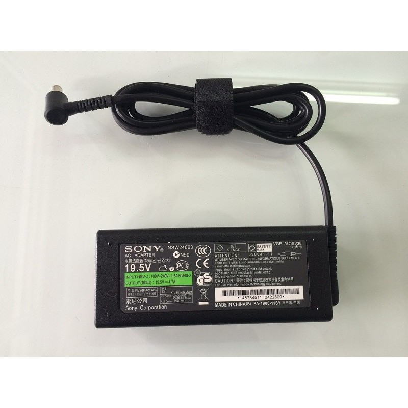 [SIÊU RẺ] Sạc Laptop Sony 19.5V - 4.7A chính hãng