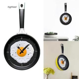 Đồng hồ treo tường hình chảo rán trứng sáng tạo