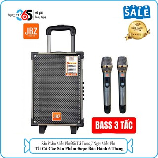Loa Kéo Karaoke Bluetooth JBZ NE109 Bass 3 Tấc, Remote – BH 6 Tháng