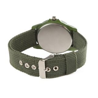 Đồng hồ 2 mặt dây đeo vải bố thể thao