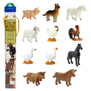 Mô hình động vật nuôi mini Safari – bé học thế giới xung quanh (Nhập khẩu từ Mỹ)