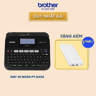 Máy in nhãn để bàn Brother PT-D450