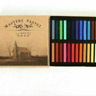 Phấn Tiên, Màu Nhuộm Tóc Tạm Thời Master Pastel 24 Màu/12 màu