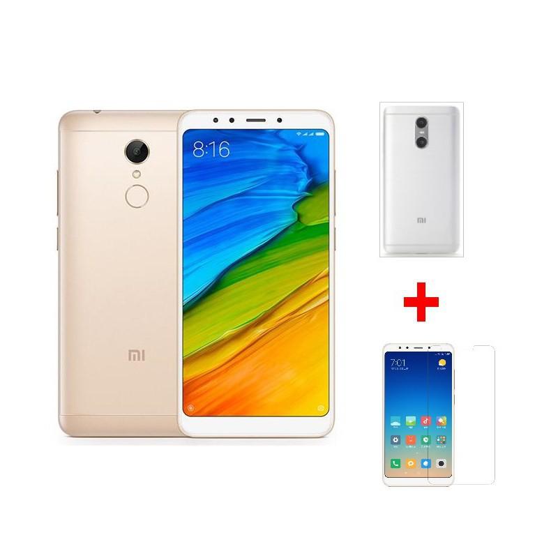 Combo Điện thoại Xiaomi Redmi 5 Plus 32GB + Ốp sillicon + Kính cường lực - Hàng nhập khẩu - 3576560 , 1168268723 , 322_1168268723 , 3450000 , Combo-Dien-thoai-Xiaomi-Redmi-5-Plus-32GB-Op-sillicon-Kinh-cuong-luc-Hang-nhap-khau-322_1168268723 , shopee.vn , Combo Điện thoại Xiaomi Redmi 5 Plus 32GB + Ốp sillicon + Kính cường lực - Hàng nhập kh