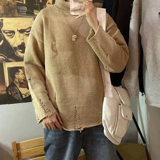 áo len nam dài tay cổ tròn thời trang hàn