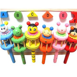 Lục lạc gỗ 2 tầng- đồ chơi trí tuệ cho bé