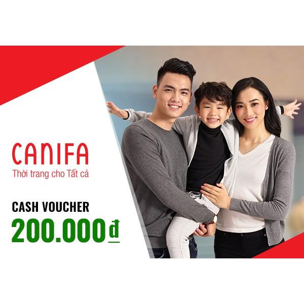 Miền bắc [Voucher] Phiếu quà tặng Canifa 200k