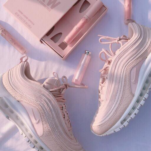 Giày air max 97 HỒNG full đến trắng