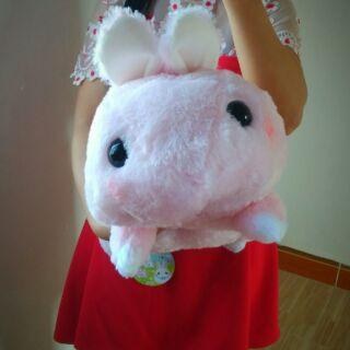 Thỏ ú hồng baby amuse chính hãng