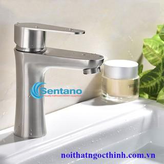 Vòi lavabo STN – 304 tròn nóng lạnh vòi rửa mặt nóng lạnh inox 304 loại 1 cao cấp