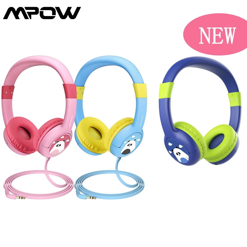 【Mpow CH1】【Mpow BH178】Mpow Kids Wired On-Ear Headphones with 85dB Volume Limited Hearing Protection