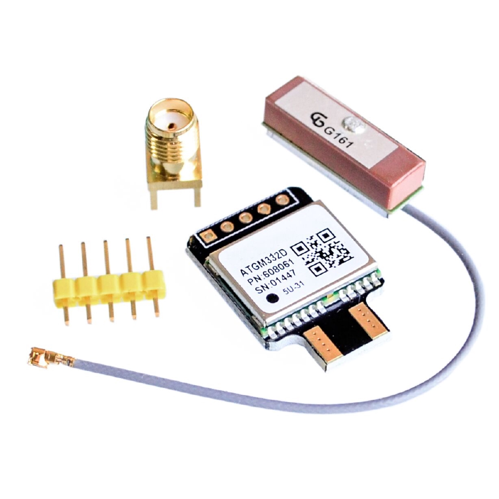 ! ATGM332D-5N new GPS module with Flight Control EEPROM Instead of NEO-M8N support SMA/IPX