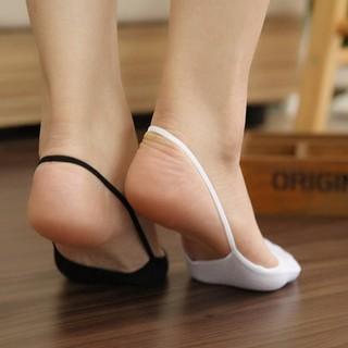 Combo 2 đôi Vớ búp bê ngắn gót dây (đen-trắng)