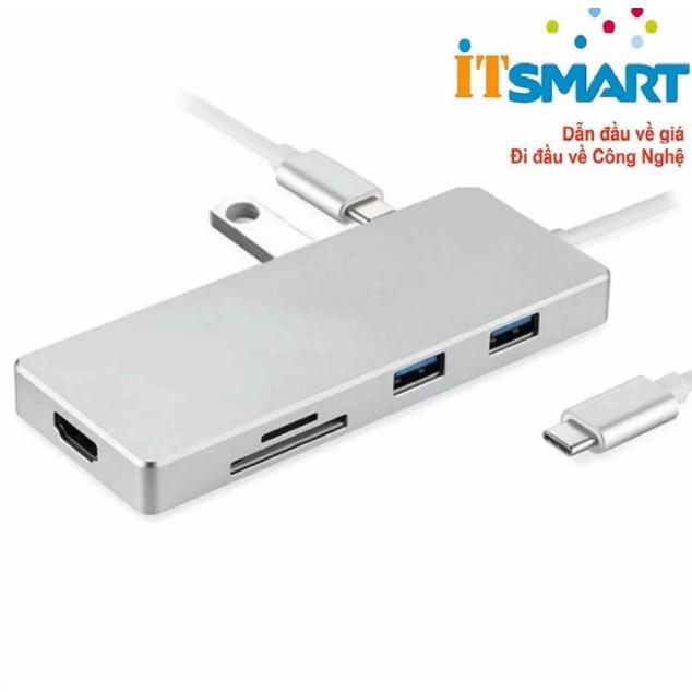 Light shop - Cổng chia USB-C cho MacBook, Laptop OTG HDMI 4K