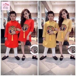 Áo dài tết cho bé áo dài cho bé áo dài bé trai bé gái áo dài cách tân cho bé giá rẻ