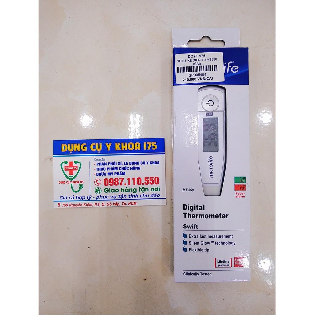 Nhiệt kế điện tử Microlife MT550 bán chạy