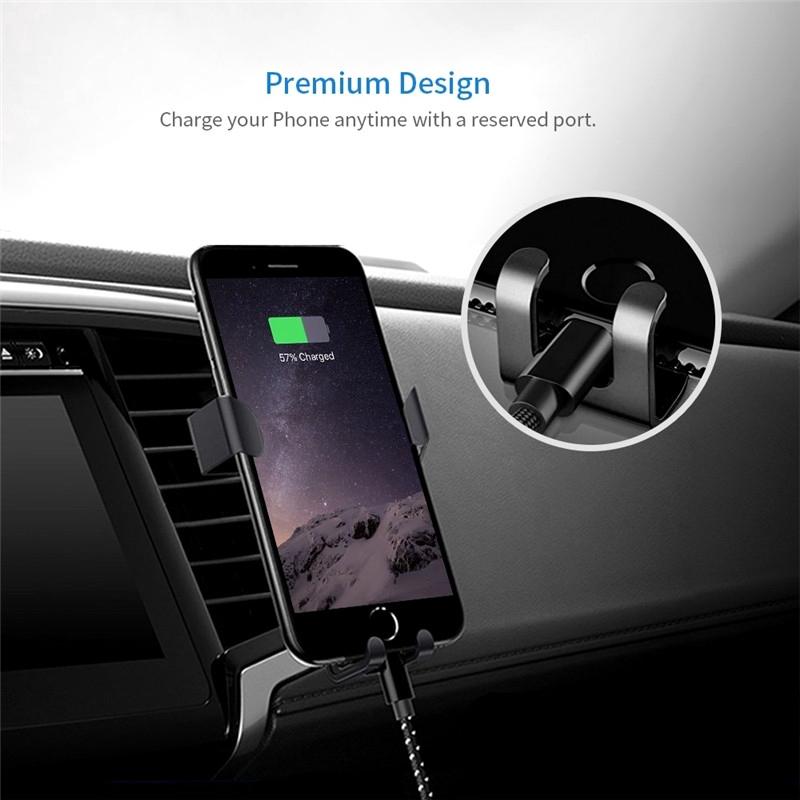 [DS] Giá Đỡ Điện Thoại Có Nam Châm Gắn Xe Ô Tô Cho Iphone 11 Pro Xs Max Android Samsung Xiaomi Huawei Samsung