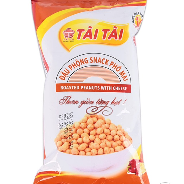 Combo 10 gói Đậu Phộng Snack Phô Mai Tài Tài Gói 30G